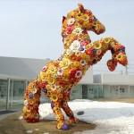"""崔正化(チェ・ジョンファ) / フラワー・ホース """"Flower Horse"""""""