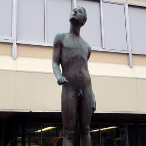 津田沼駅前銅像