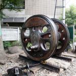 C57117号蒸気機関車主動輪