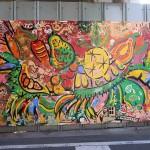 ライヤー・ベン × 京急キッズランド黄金町保育園 2014年度4・5歳児 / 壁画