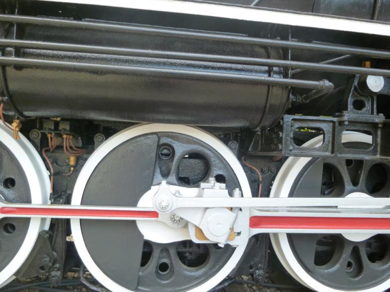 D51形蒸気機関車231号