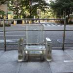 """吉岡徳仁 / 雨に消える椅子 """"Chair disappears in the rain"""""""