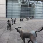 """薮内佐斗司 / 犬も歩けば・・・ """"Every dog has his day"""""""