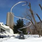 """伊藤隆道 / 回転ラセン•1月 """"Rotating Spiral; January """""""