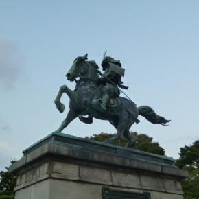 "高村光雲、後藤貞行 / 楠正成像 ""Statue of Kusunoki Masashige"""