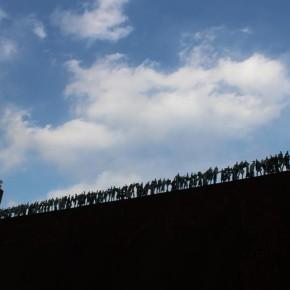 """三木俊治 / 行列 """"People Line"""""""