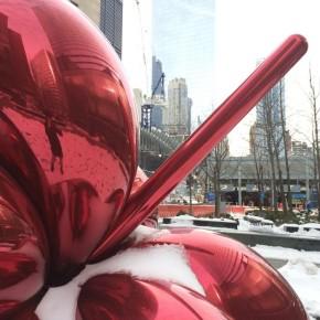 ジェフ・クーンズ / Baloon Flower (Red)