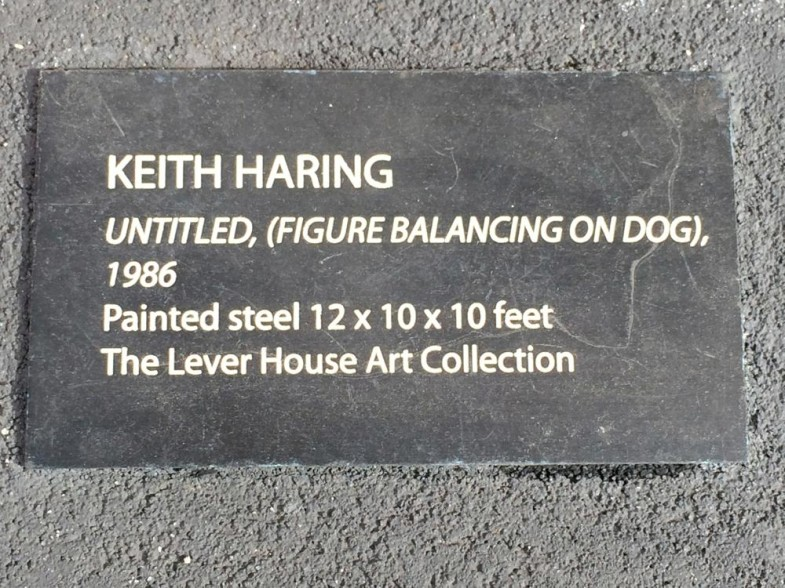 UNTITLED (FIGURE BALANCING ON DOG)