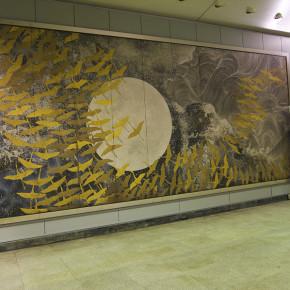 """加山又造 / 千羽鶴 """"Thousand Paper Cranes"""""""